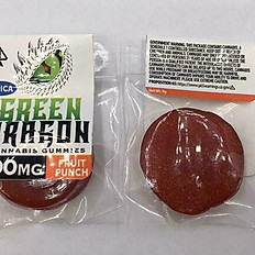 Green Dragon Cannabis Gummies Indica 200MG