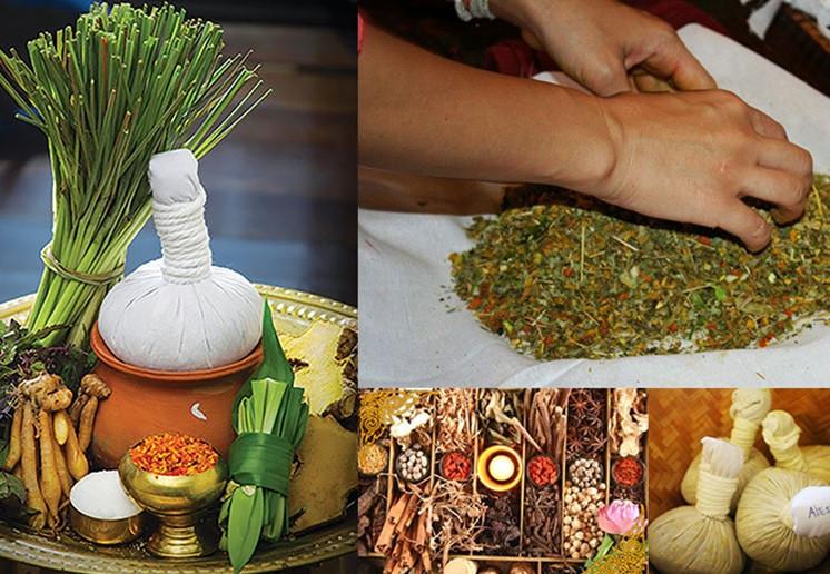 thai herbal ball