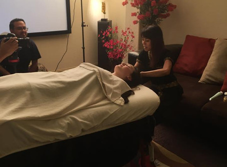 Lights, Camera, Action San Antonio! Vidura Party Interviews & Thai Massage