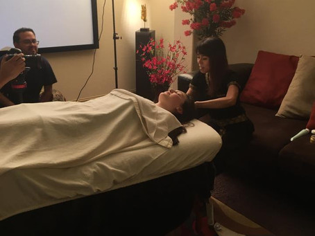 Lights, Camera, Action San Antonio! Vidura Party Interviews & Thai Massage