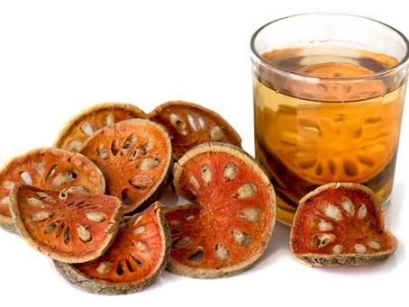 Bael Tea and Fruit