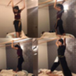 ashiatsu back walking massage