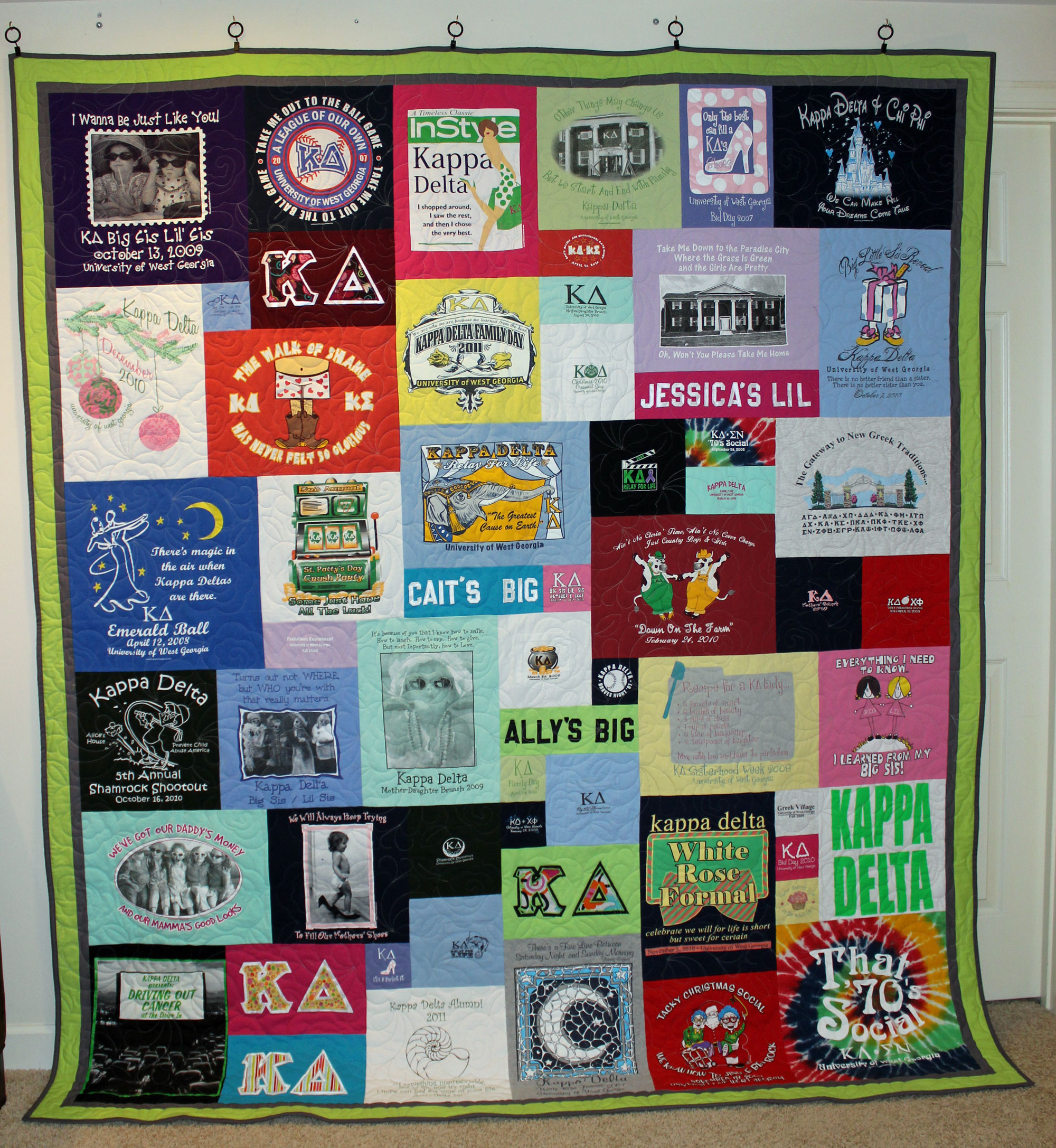 Shirt Off Your Back Quilts: Gallery Style Quilts