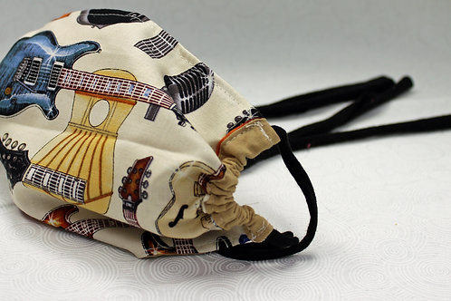 Guitars Cotton Cloth Face Mask