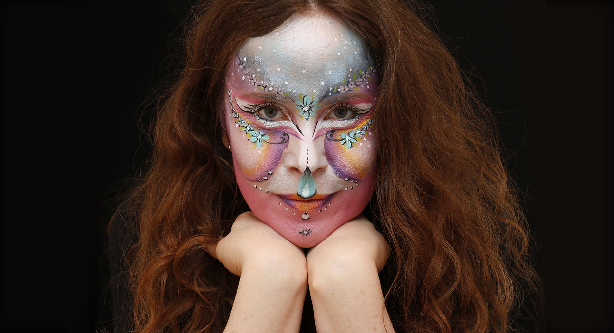 Adult face painting West London