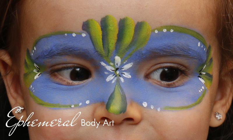 Fantasy eye Mask Face Painting