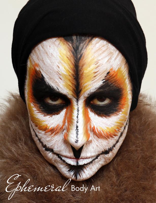 Bird Face Painting