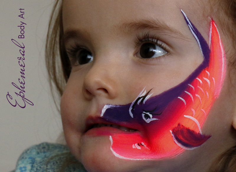 Little Fish Face Painting