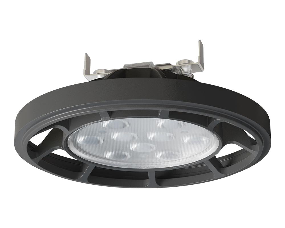 AR111 LED Fijo Negro