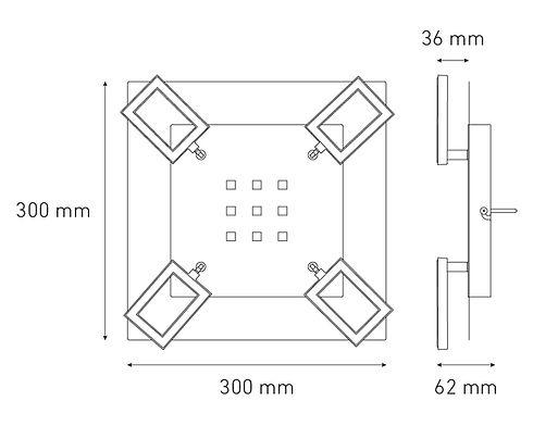 Dimensiones Mirror Rec IV Multiperforado