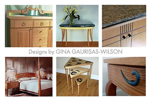 Furniture by Gina Gaurisas-Wilson
