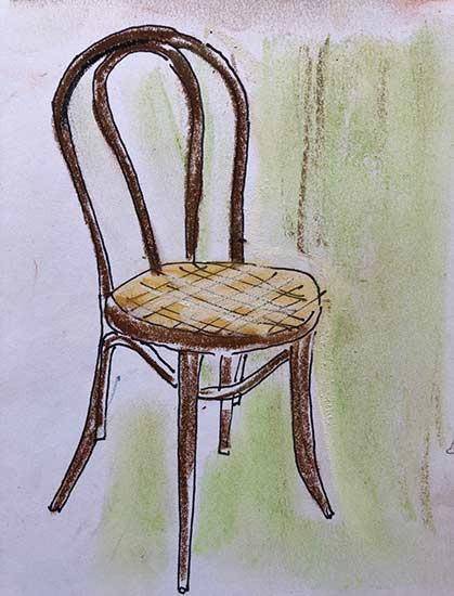 My Thonet chair replica