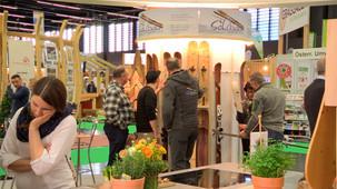 Messe Bauen & Wohnen: Salzburger Tischlerküchen und Designer Weinmöbel