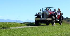 Raus in die Welt - Oldtimerausfahrt Fahrtraum Mattsee