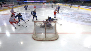 Eishockey: Red Bull Hocke Juniors vs. Wipptal Broncos  AHL