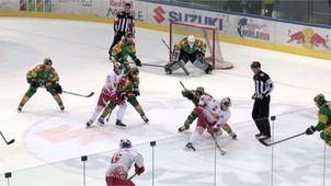 Eishockey: Red Bull Hockey Juniors vs. EHC Lustenau AHL