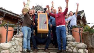 Siezenheim feiert am Schnalzermontag Ausklang der Schnalzerzeit