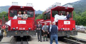 Zwei neue Loks für die Schafbergbahn