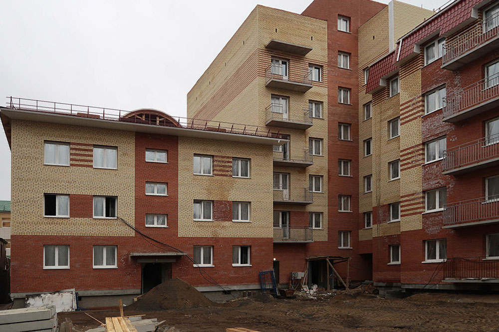 """Жилой дом """"Нота"""" Архангельск"""