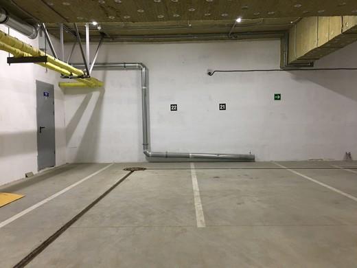 """Подземный паркинг в ЖК """"Флагман"""""""