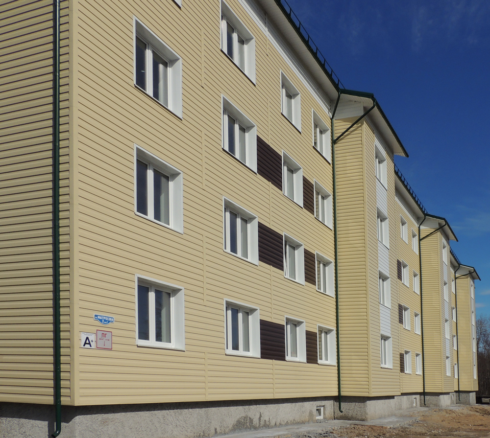 Жилой дом на Матросова Архангельск
