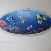underwater bathroom wall