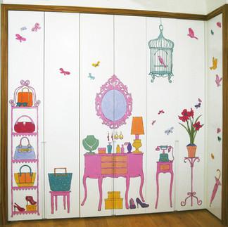 ISO Andy Warhol bedroom cupboard doors