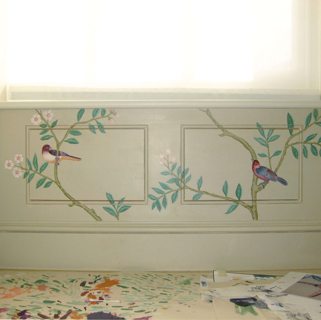 bathroom panelling