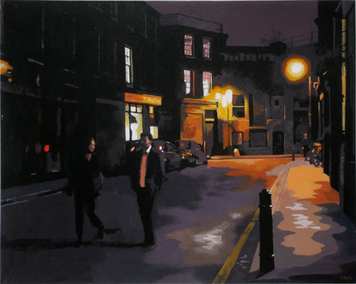 Park Street Camberwell - Original acrylic on canvas