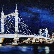 Albert Bridge Lights
