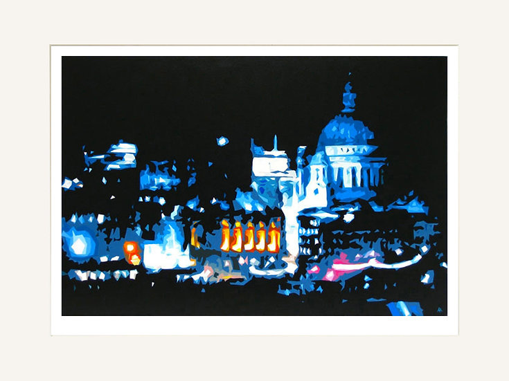 St Paul's - Signed limited edition print