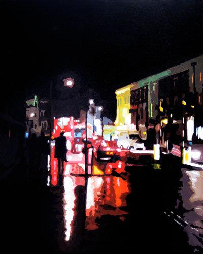 Reflections Camden - Original acrylic on canvas