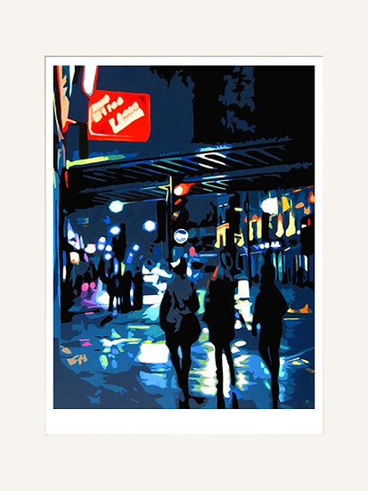 Camden Girls - Signed limited edition print