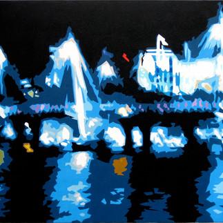 Golden Jubilee Bridge Reflections