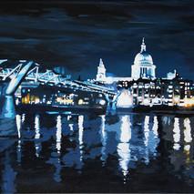 Millenium Bridge to St Paul's