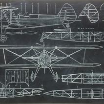 Biplane plan