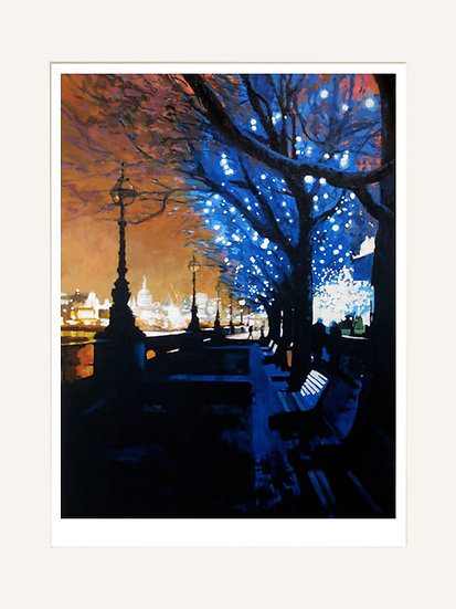 Orange Evening - Signed limited edition print