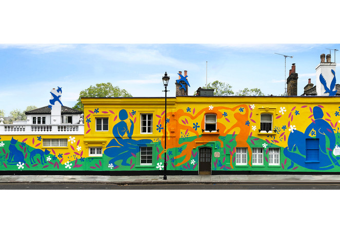 Chelsea Arts Club - Murals & Specialist Finishes