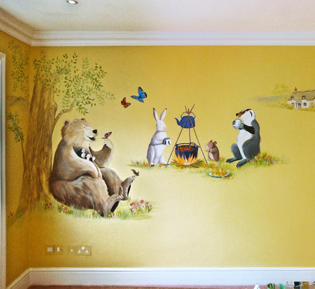 Eton Place bedroom