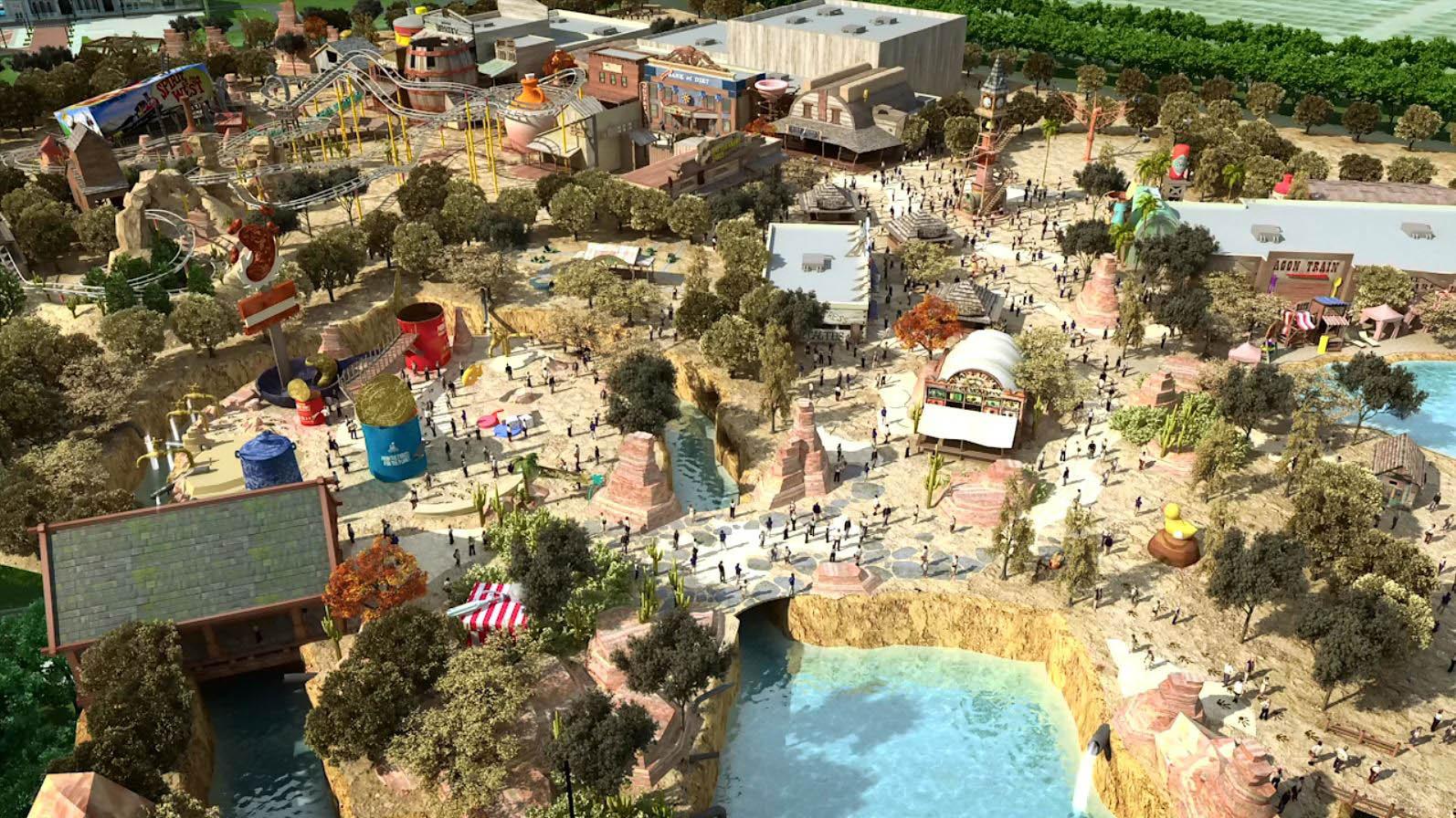 Paramount parks Rangos West
