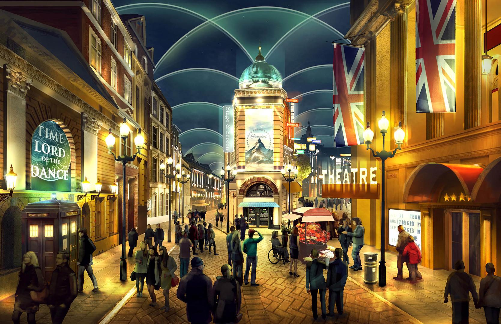 London Paramount Entertainment Resort