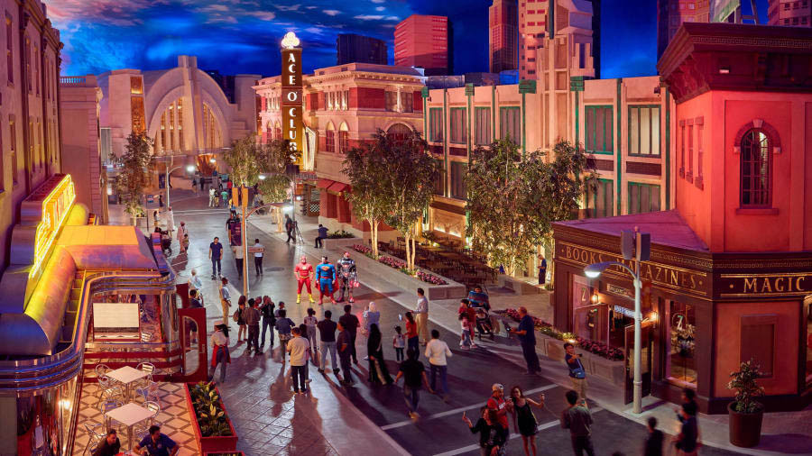 Warner Bros Theme Park