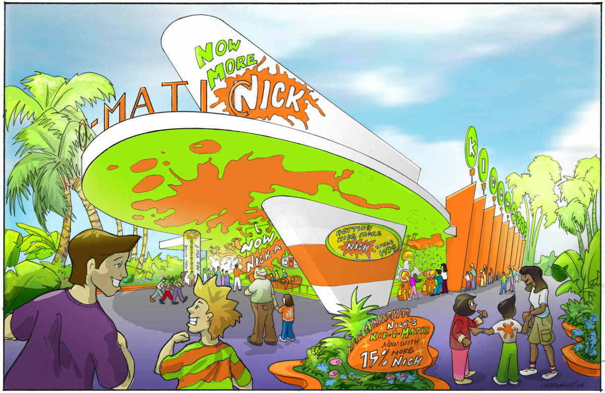 Nickelodeon-KIDOMATIC FACADE CONCEPT COL