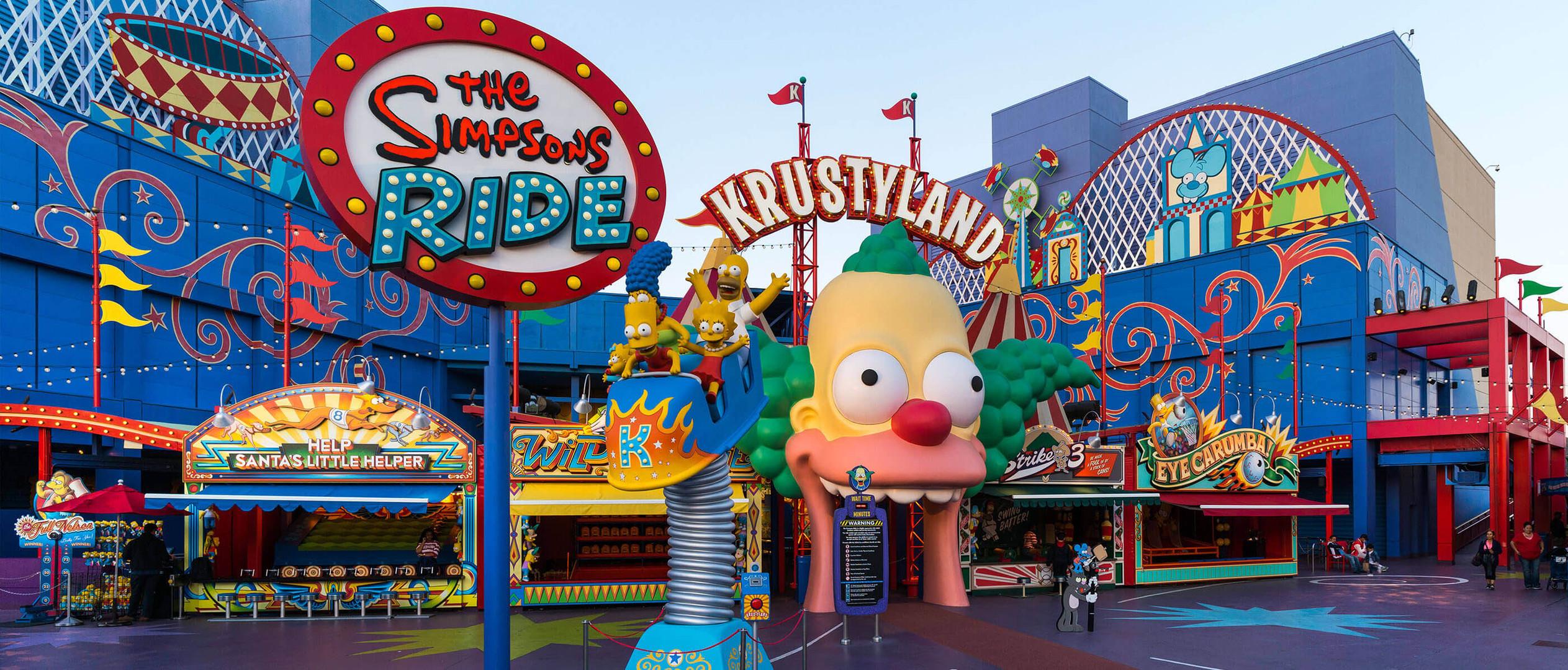 Simpsons Ride__Exterior