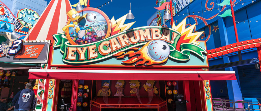 Simpsons Ride__Carnival Games