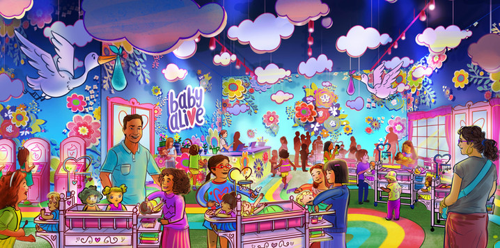 Baby Alive Family Entertainmnet Center_Retail