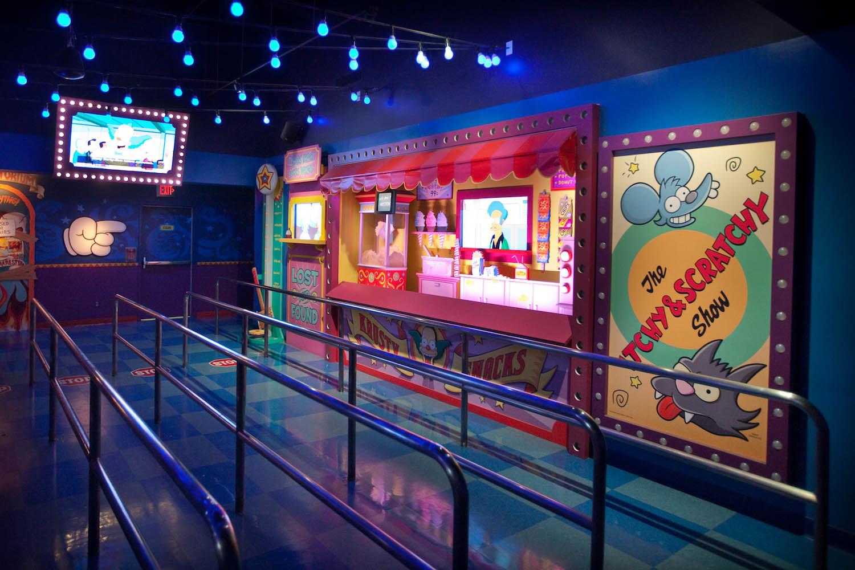 Simpsons Ride-PreShow