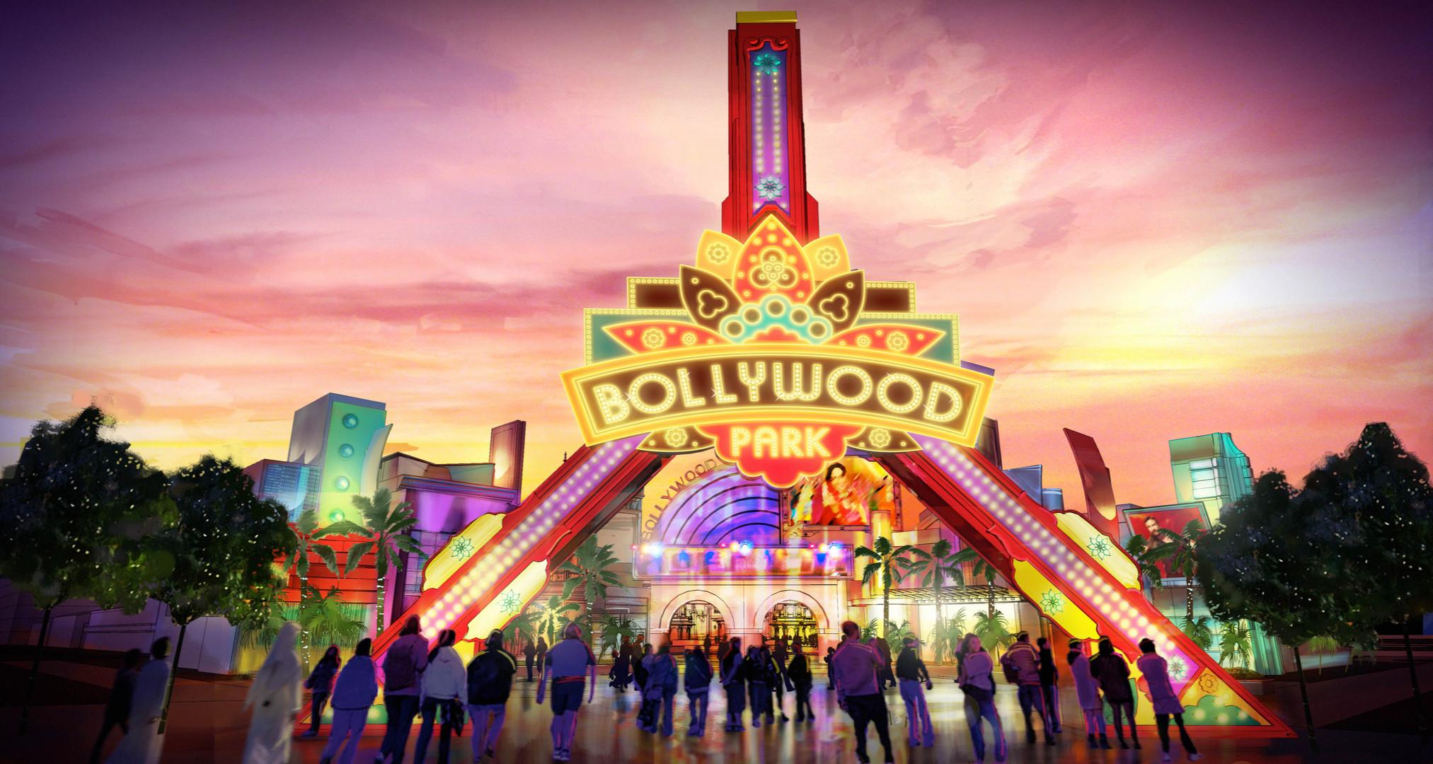 Dubai Parks - Bollywood - Entrance