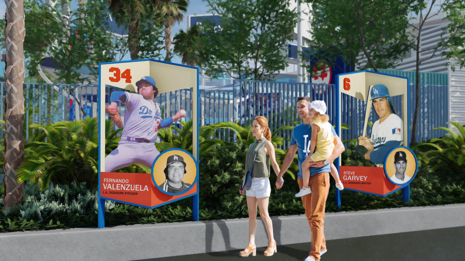 Dodger Stadium Center Field Project
