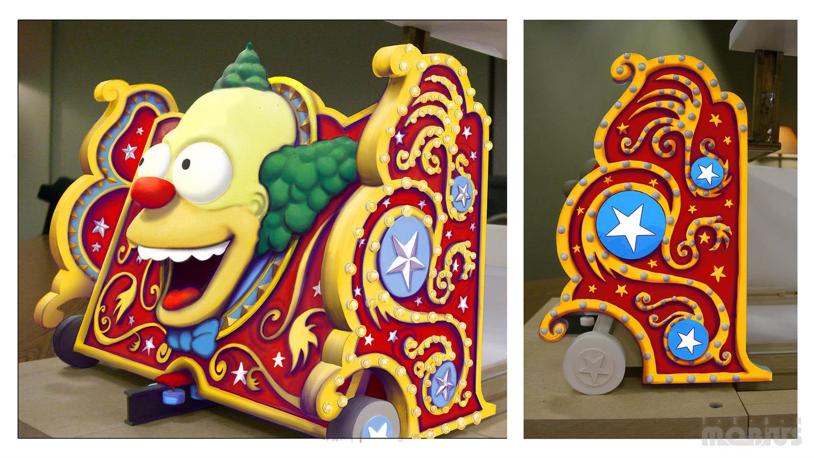 Simpsons Ride_vehicle